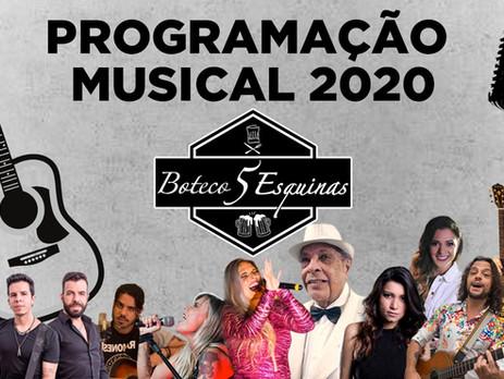 Boteco reforça compromisso cultural com a chegada das Quartas Musicais e Sábados à Noite