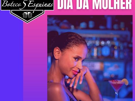 Boteco 5 Esquinas lança kit e sorteio especiais em razão ao Dia da Mulher
