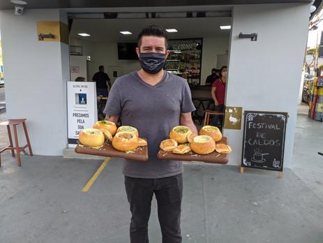 Boteco 5 Esquinas lança festival de caldos e sopas