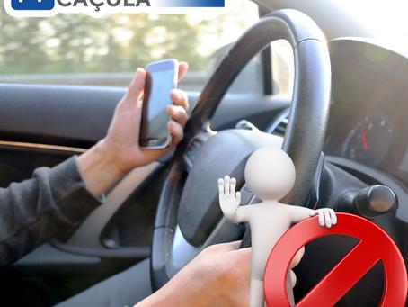 Atenção ao volante: Uso proibido de celular representa 7,5% das multas em São Paulo