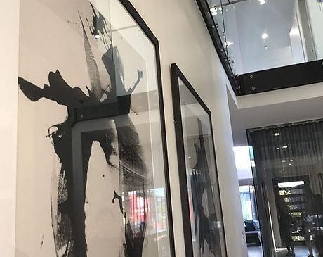 #newhome #architecture #glass #foryer #intetiordesign #art #lessismore