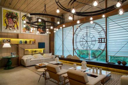 Ambientes decorados com persianas