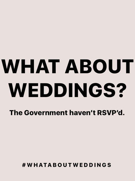 #WhatAboutWeddings - Couples and Suppliers Need Clarity and Support
