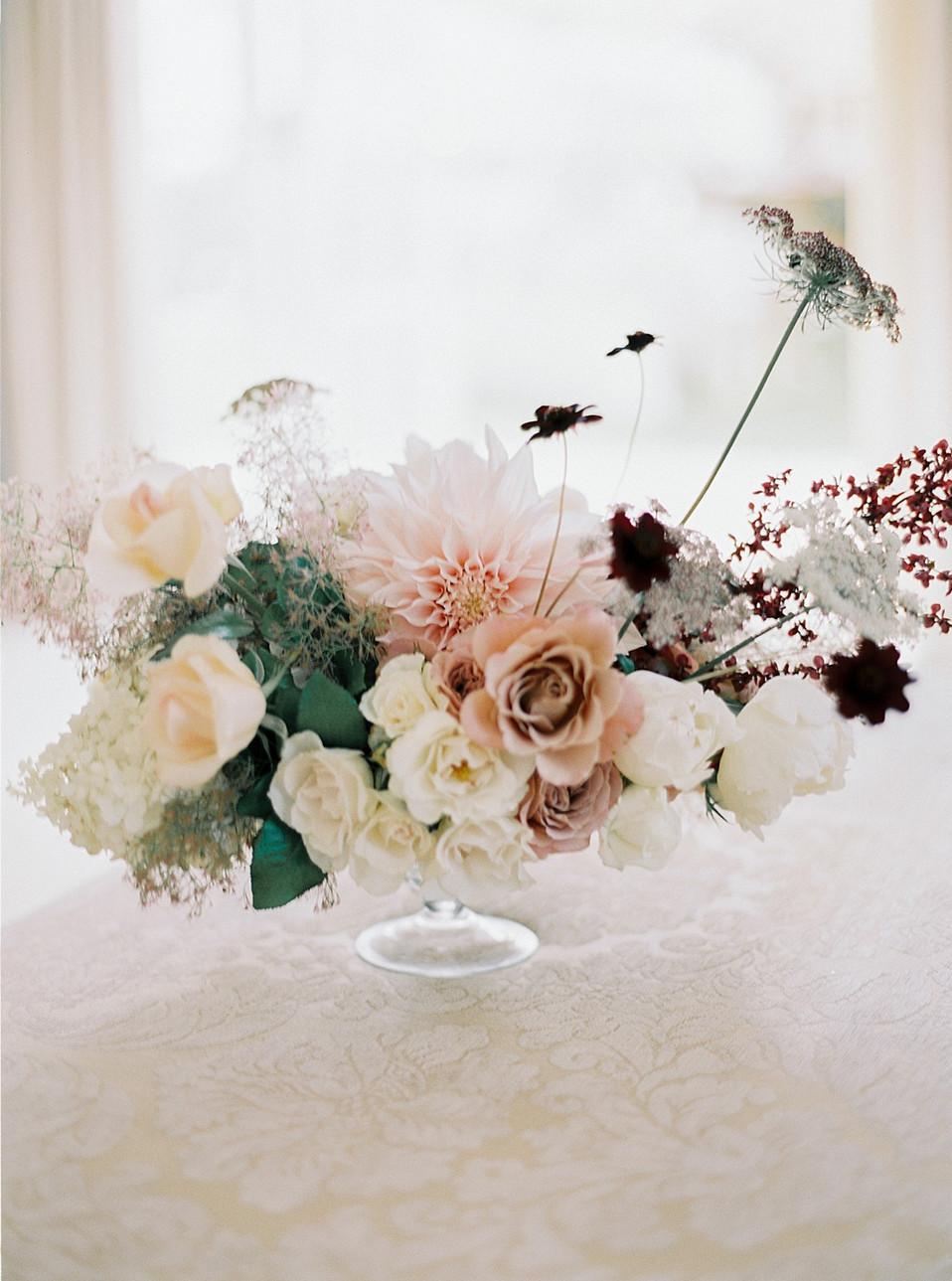 Luxury wedding flowers England