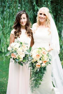 Blush & Gold Marquee Wedding