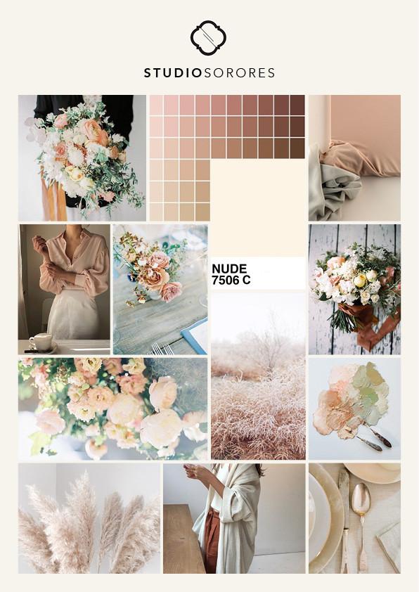 Nude Wedding Flowers Trend Studio Sorores Luxury Florist Planner London Cotswolds