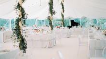 HOW TO STYLE A MARQUEE OR TENT WEDDING