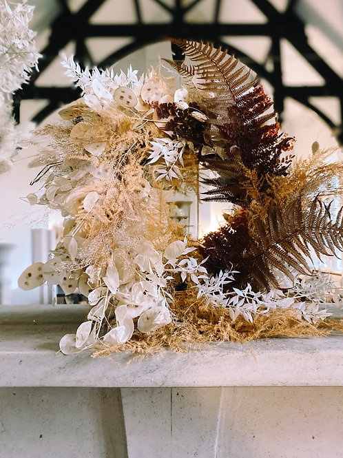 FLUFFY FERN WREATH - 3 SIZES AVAILABLE