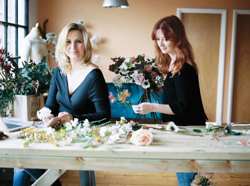 FLORISTRY STUDIO TOUR: LONDON