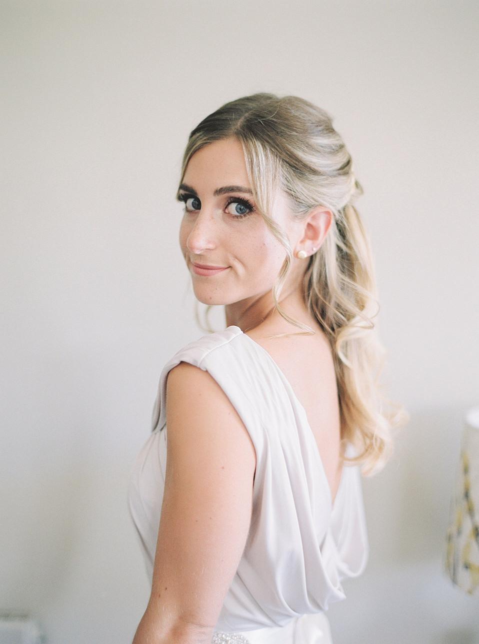 Bridesmaid dress and hair inspiration