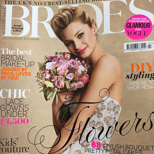 Brides Magazine - August 2015