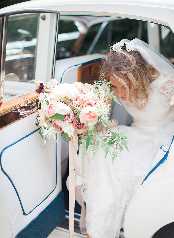 Jenny Packham real bride