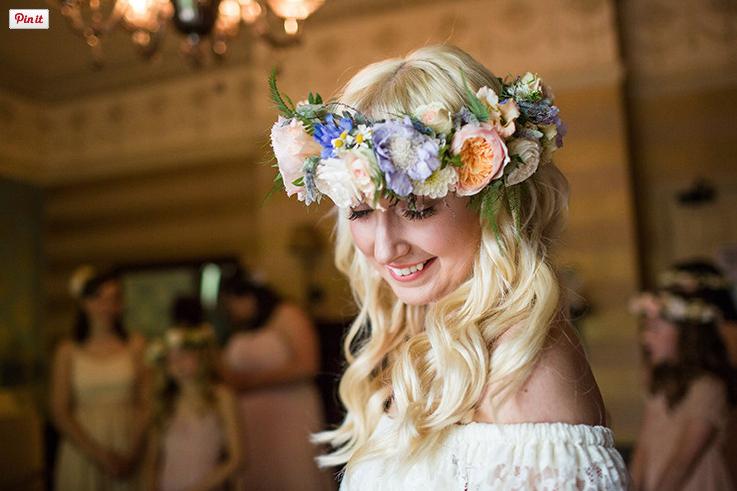 Pretty Pastel Festival Wedding