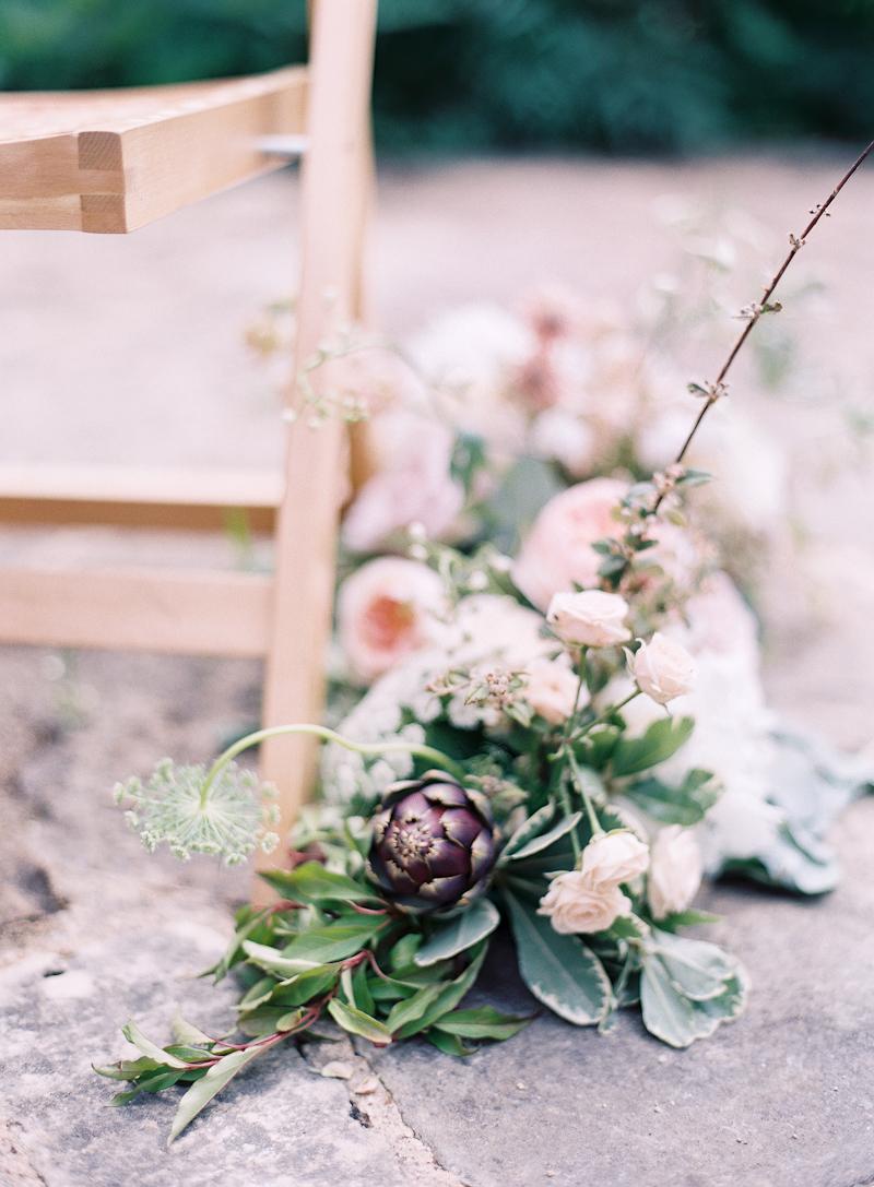 Soft Blush & Blackberry Wedding