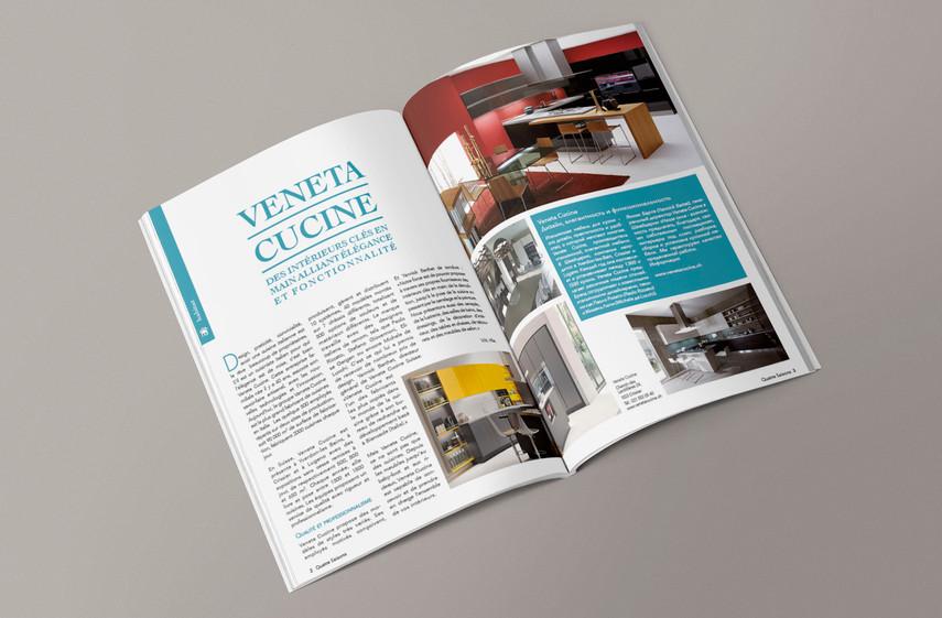 """Magazine suisse local """"4 saisons"""""""