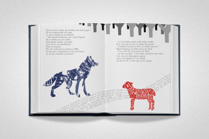 Le loup et l'agneau - Jean de la Fontaine