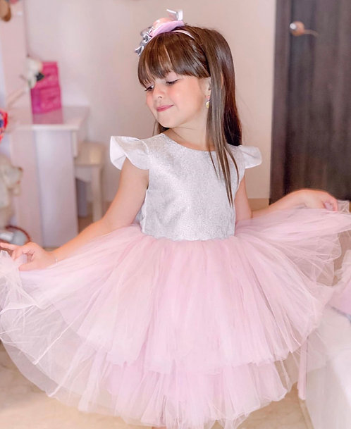 Pink Laura Dress