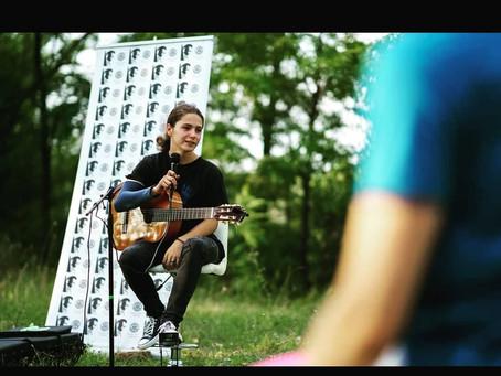 Florin Țubucan, tânărul muzician din Jimbolia