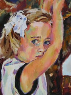 Portrait of Darrah - Detail