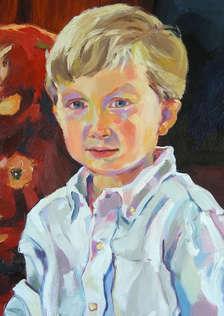 'Joe'.  Detail from Portrait