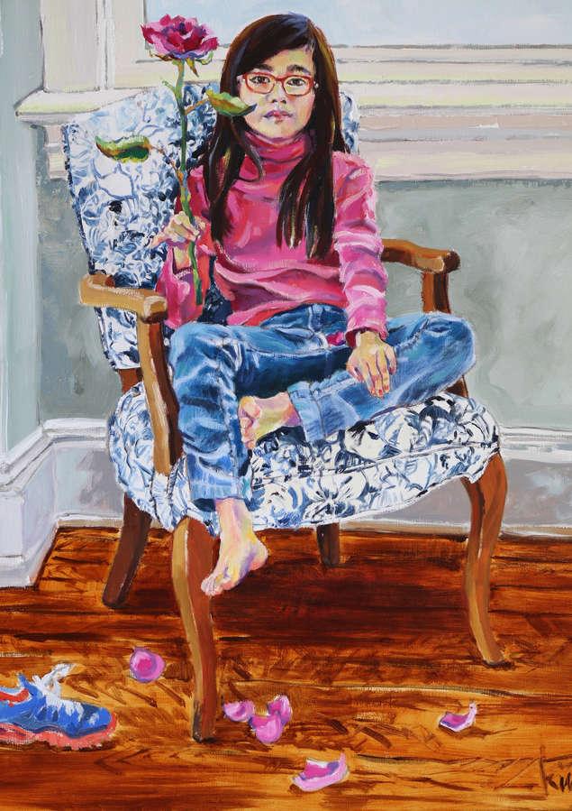 'Rose'.  Portrait