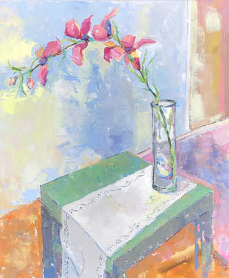 Orchid on a Parson's Table