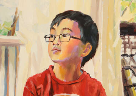 'Henry'.  Portrait