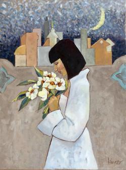 Woman in White - 'Dystopian Night'
