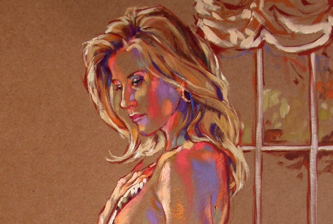 Detail - Portrait of Stacy