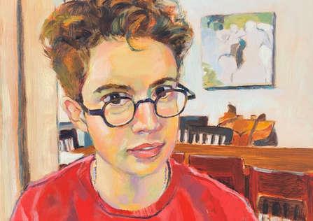 'X Wing'.  Portrait of Emmett.
