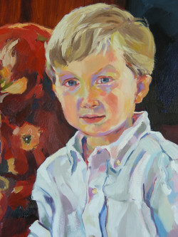 Detail - Portrait of Boy