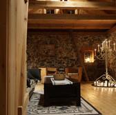 Ruhe, Holz & Gediegenheit in unserer Feldsteinscheune