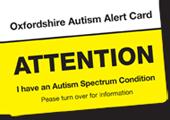 Oxfordshire Autism Alert Card