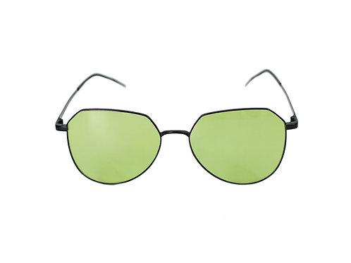 BOHO negro/lente verde
