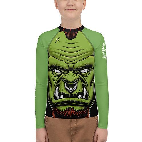 Youth 10P O'Fallon Green Orc Rash Guard