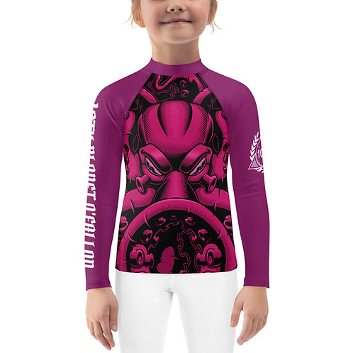 Kids 10P O'Fallon Kraken Rash Guard
