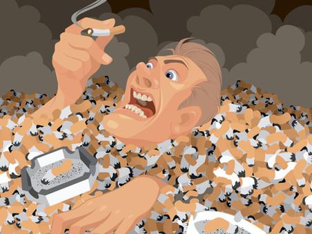 Por que é tão difícil parar de fumar?