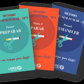 Livre! Sem Fumar Método Completo 3 E-books + Guia +Bônus