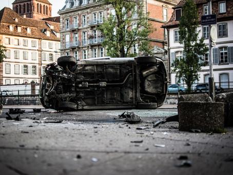 Major Car Crashes Surge Last Week