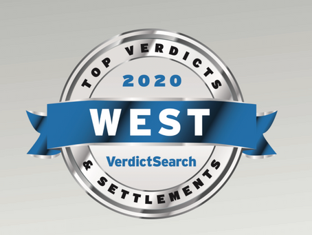 West Top Verdicts & Settlements of 2020: Law Offices of Tanya Gomerman