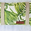 Thumbnail: כרית חוף -כרית לראש לחוף הים דגם טרופי. ציפית כרית שממלאים בחול בחוף