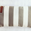 Thumbnail: כרית חוף -כרית לראש לחוף הים דגם פסים אפור לבן . ציפית כרית שממלאים בחול בחוף