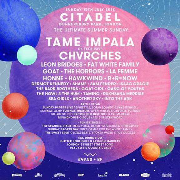 Citadel Festival 2018