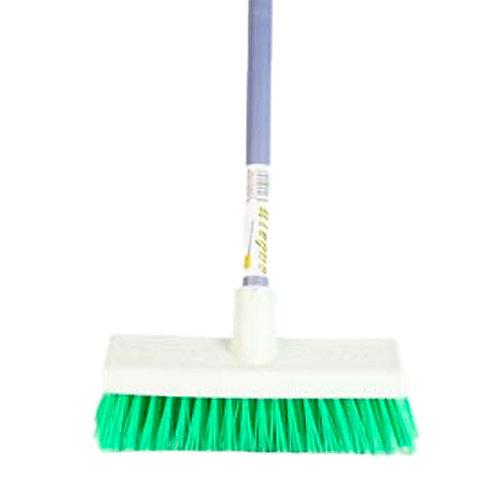 Cepillo plástico grueso con bastón