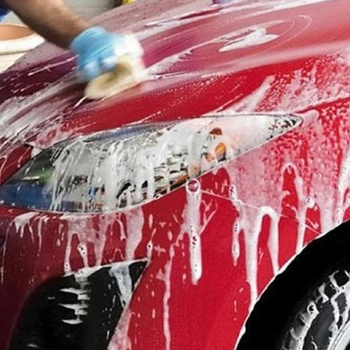 Shampoo autos alta espuma