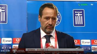 Προκριματικά Μουντιάλ 2022: Οι δηλώσεις του Φαν'τ Σχιπ για την ισοπαλία της Εθνικής στην Ισπανία