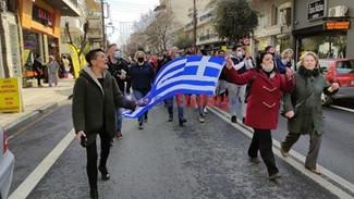 Με «Μακεδονία Ξακουστή» η νέα μεγάλη συγκέντρωση στον Εύοσμο κατά του lockdown και της δομής παράνομ
