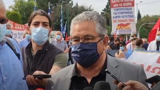 Κουτσούμπας: Δεν πρέπει να κατατεθεί το νομοσχέδιο-έκτρωμα του Χατζηδάκη - Αρνούμαστε τη 10ωρη δουλε