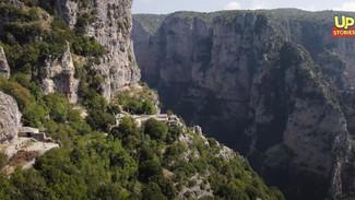 Μονοδένδρι: Το πιο επικίνδυνο μονοπάτι της Ελλάδας - Δίπλα σε γκρεμό 500 μέτρων - Εντυπωσιακό βίντεο