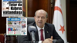 Σκάνδαλο μεγατόνων στα Κατεχόμενα: Ο Τατάρ έχει κυπριακό διαβατήριο - Δήλωσε έτοιμος να το επιστρέψε